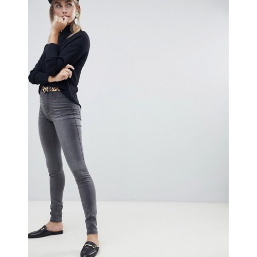 Only high waisted skinny jean You're halfway there with these Gray wash High rise 1297523 IEZWOVD