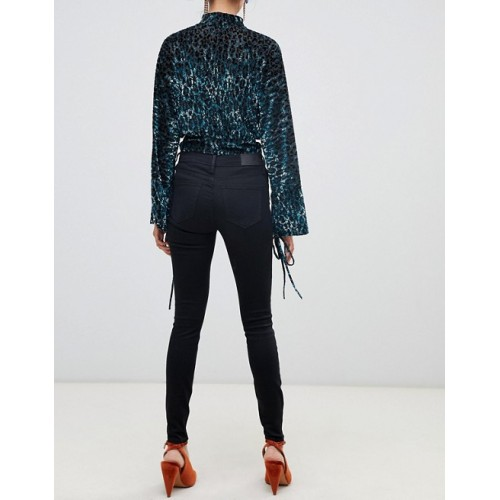 River Island Amelie Superskinny Jean Mid-rise waist Zip fly Five-pocket styling 456257 PPHXTIX