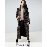 Fashion DESIGN Tall mac in animal print Not just your average print Fully lined Point collar 1304970 EERNHKE
