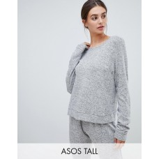 Fashion DESIGN Tall mix & match lounge super soft brushed sweat Round neck Long sleeves Fitted trims 1324640 XUIOMVB