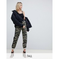 Missguided Tall camo cargo pant in multi High-rise waist Camouflage design Stand out or blend in – you decide 1381866 HNGCJMC